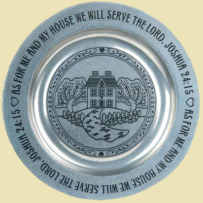 Serve the Lord Plate