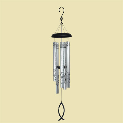 "40″"" Faith Cross Fish Wind Chime – Eyevolver"