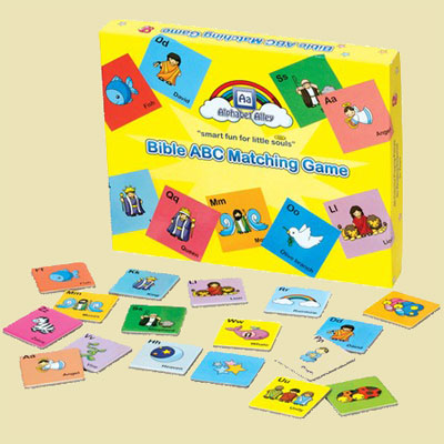 Bible ABC Matching Game