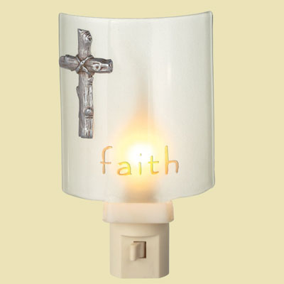 Faith Cross Night Light