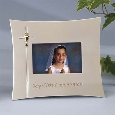 First Holy Communion Horizontal Photo Frame