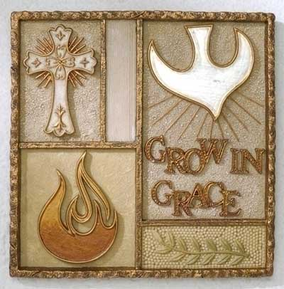 "5″"" Confirmation Wall Plaque"