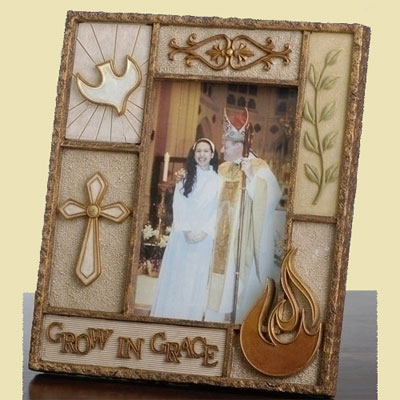 Confirmation 'Grow in Grace' Photo Frame