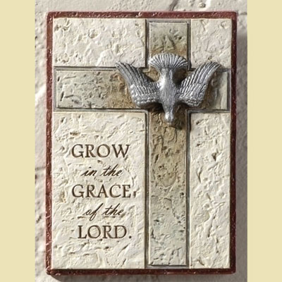 Confirmation Wall Plaque