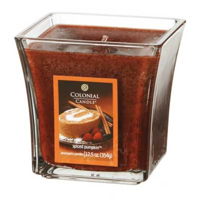 Colonial Candle 12.5 oz Spiced Pumpkin Scent