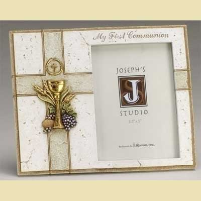 1st Holy Communion Frame with Chalice