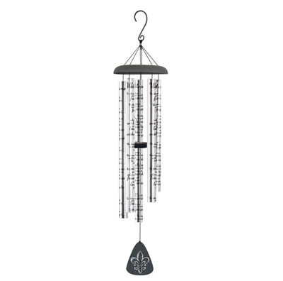 "44″"" Signature Series Sonnet Wind Chime – Welcome"