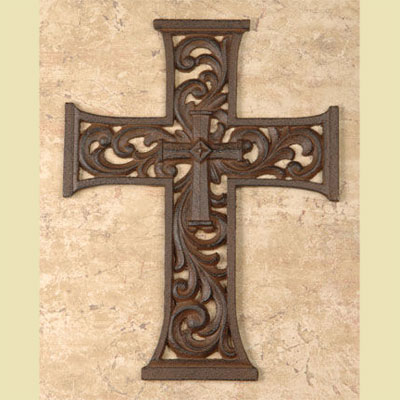 Cast Iron Cross – 10″""