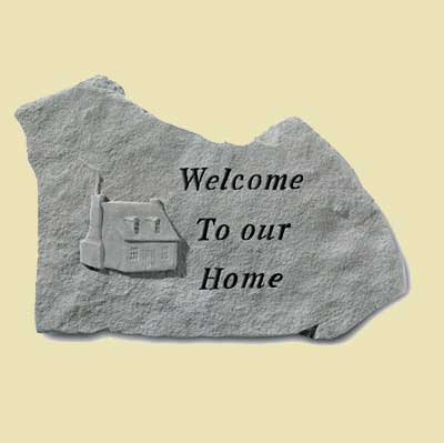 Welcome to our Home… Garden Stone