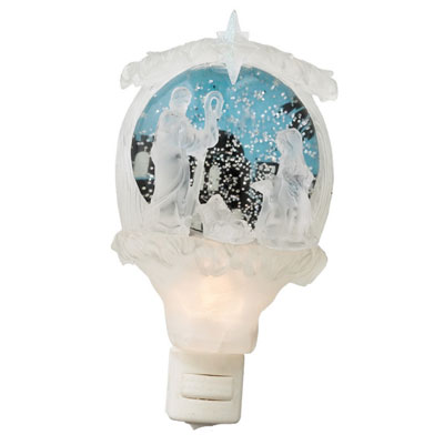 Nativity Shimmer Night Light
