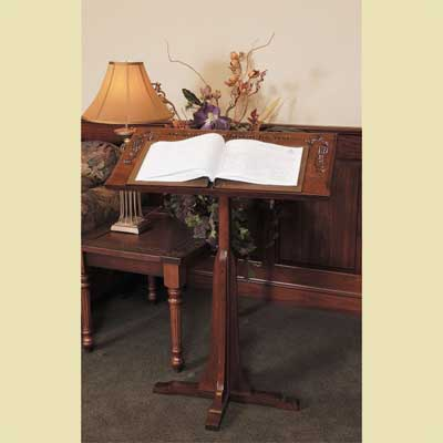Dark Cherry Bible Stand / Podium