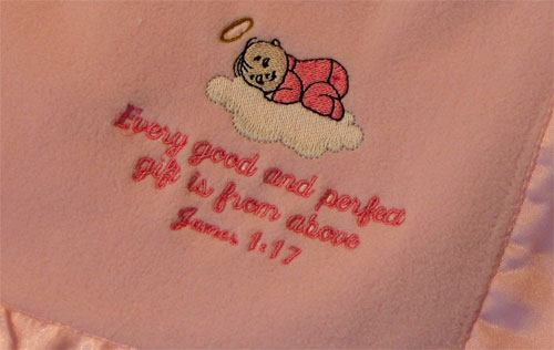 Christian Baby Gift