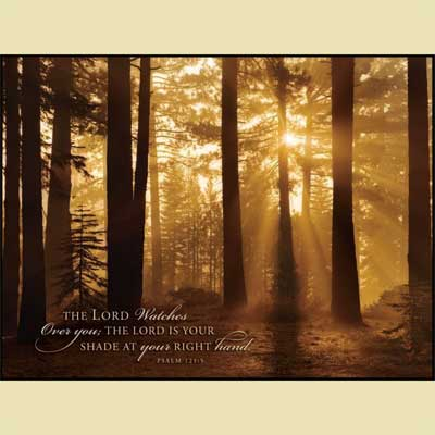 Tahoe Smoky Sunrise   Christian Wall Art