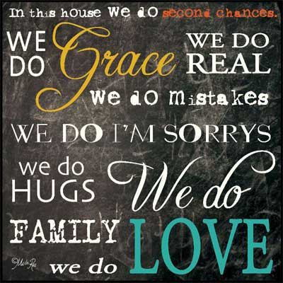 Grace and Love – Christian Wall Art