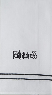 'Faithfulness' Guest Towel