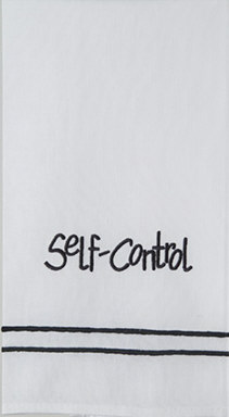 'Self-Control' Guest Towel