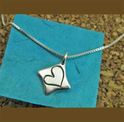 Heart full of Love Sterling Necklace