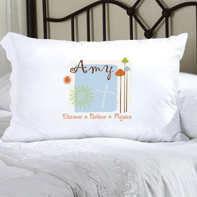 Personalized Pillow Case with Nature's Song