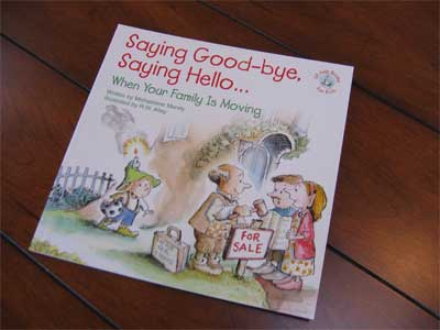Saying Good-bye, Saying Hello…Book