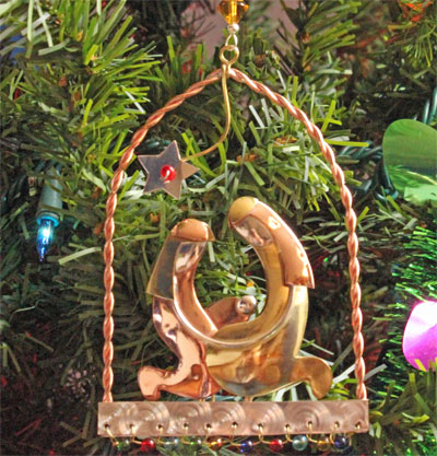 Unity Nativity Ornament