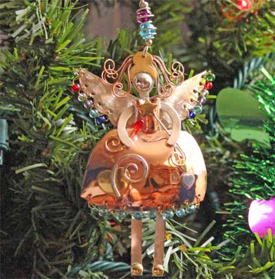 Bella Angel Ornament