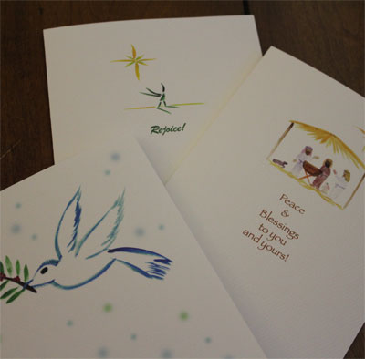Note Card Set of 6 – Christmas