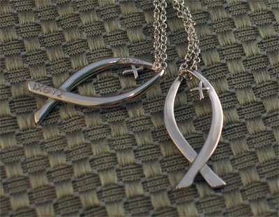 Ichthys Sterling Silver Necklace