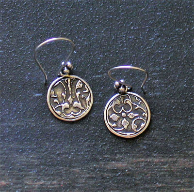 Sterling Silver Scripture Earrings - 1 John 4:4