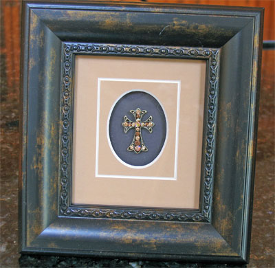 Framed Adorned Cross