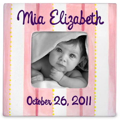 Sweet Baby Girl Personalized Photo Frame