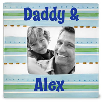 Daddy & Child Personalized Photo Frame