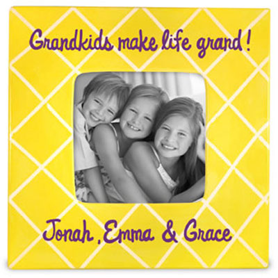 Life is Grand - Grandparents Personalized Photo Frame