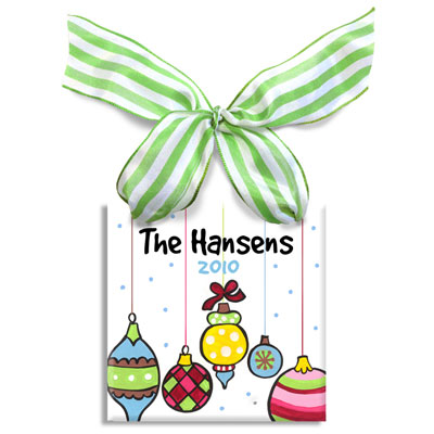 Personalized Christmas Ornament – Ornaments
