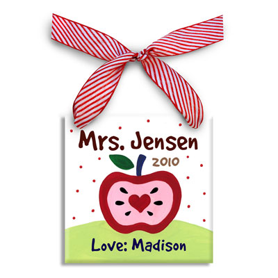 Personalized Christmas Ornament for Teacher