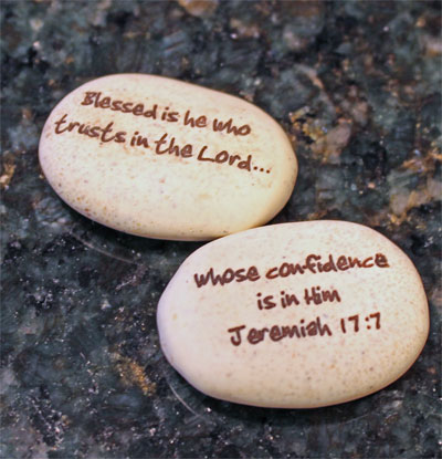 Pocket Stone - Jeremiah 17:7