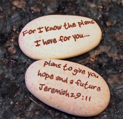Pocket Stone – Jeremiah 29:11
