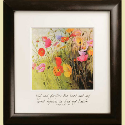 Meadow Dance Wall Hanging - Luke 1:46-47