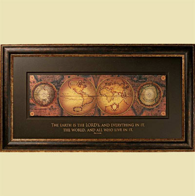 Orbis Geographica 2 Framed Print