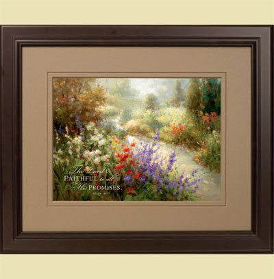Spring Beauty – Psalm 145:13 – Wall Hanging