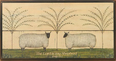 Weeping Willow Grove Scripture Wallhanging