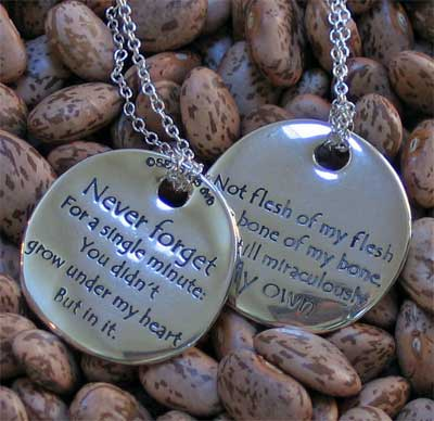 The Adoption Poem Touchstone Necklace