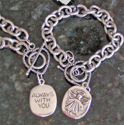 Always With You Angel Bracelet