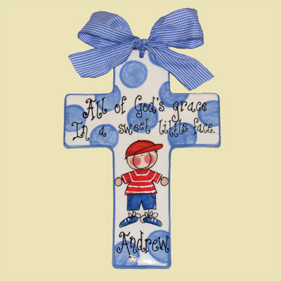 Personalized Blue Cross