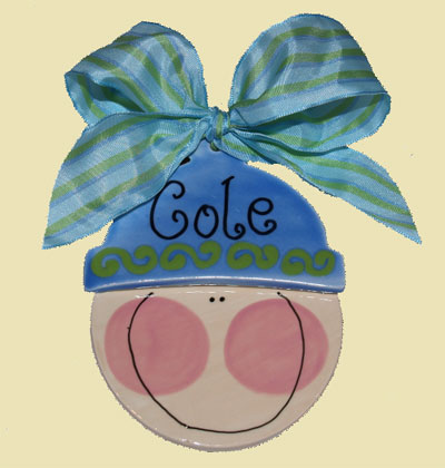 Baby Boy Personalized Christmas Ornament