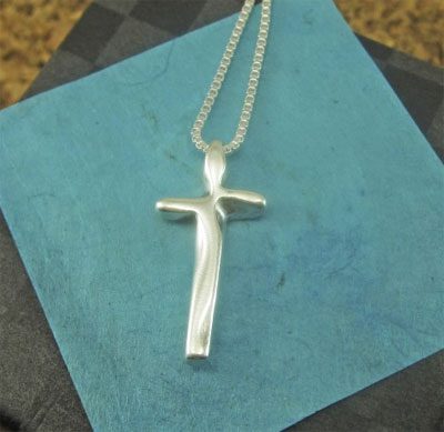 Complete in Christ Sterling Necklace