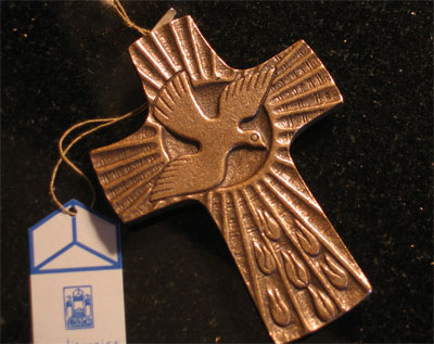 Holy Spirit Bronze Cross
