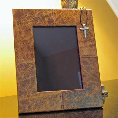 Leather Picture Frame – Bronte 5×7