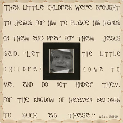 Then Little Children… Wall Photo Frame