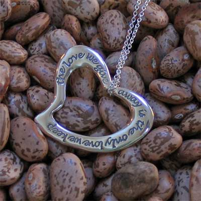 Heart Necklace – The Love we give away…