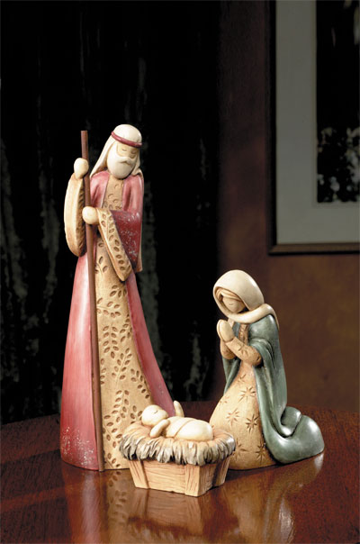 Terra Cotta Nativity